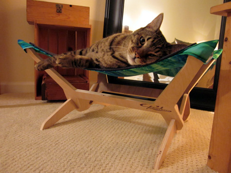 Linus Peach Industries Pet Hammock
